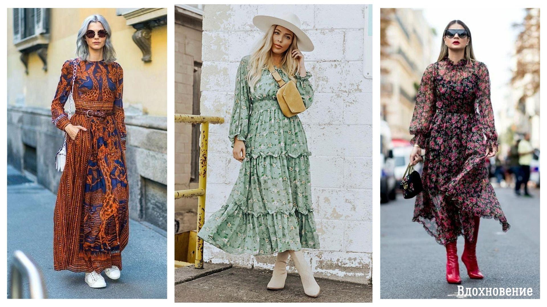 14 великолепных идей как носить платье в стиле Бохо