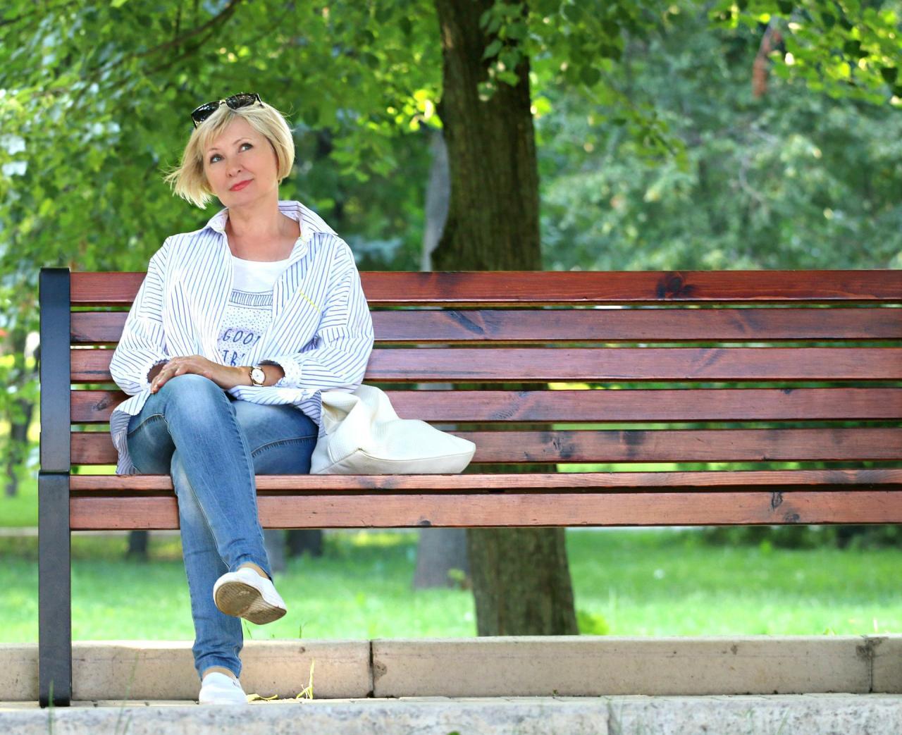6 главных правил красоты женщины элегантного возраста свежий воздух