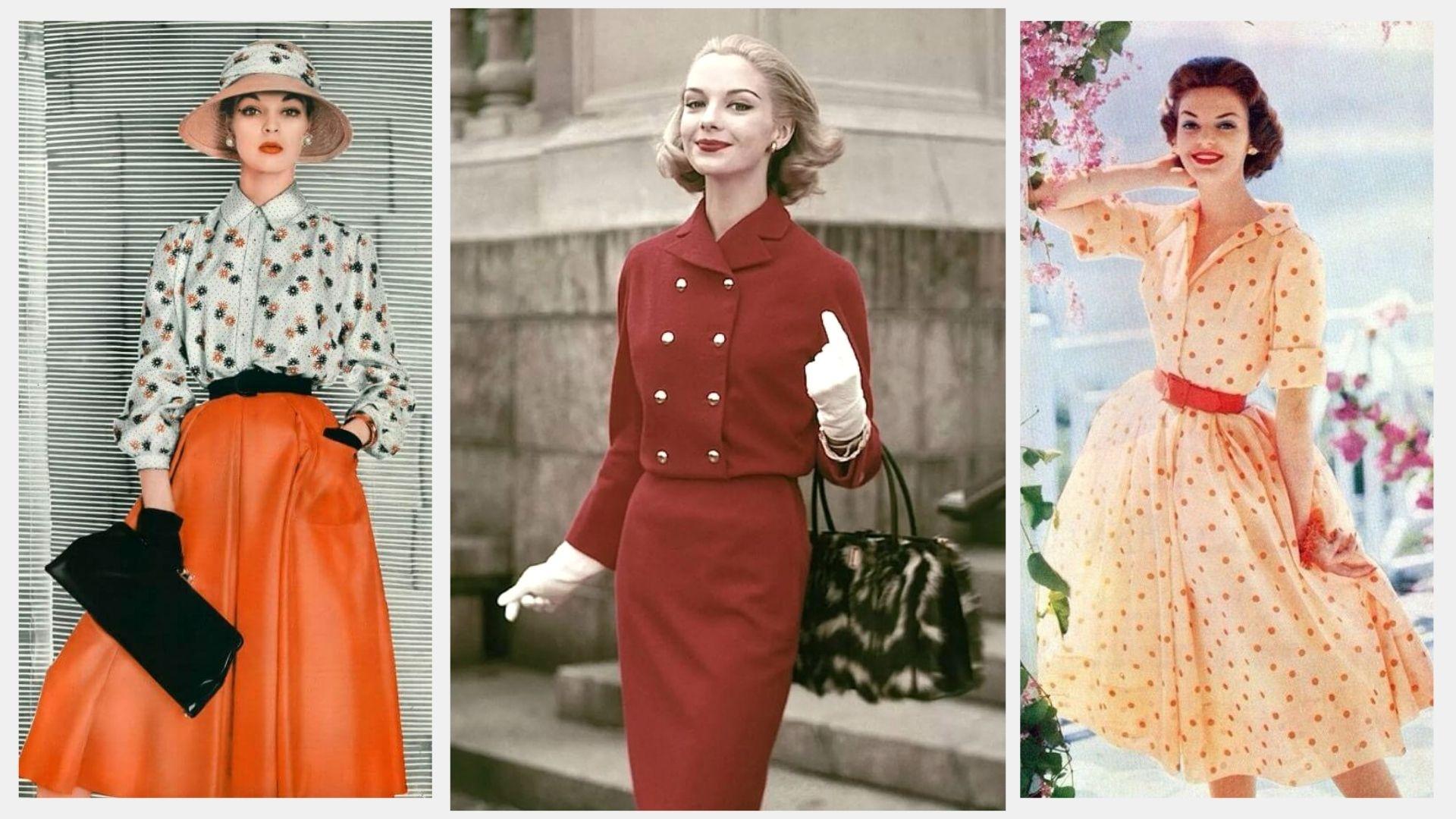 Элегантный стиль 50-х: эпоха женственности и изысканного гламура