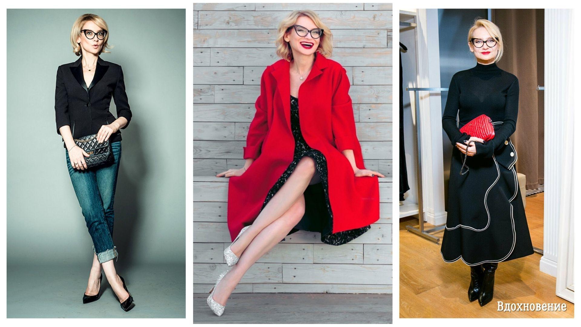 Всё дело в аксессуарах. 12 стильных образов от Эвелины Хромченко