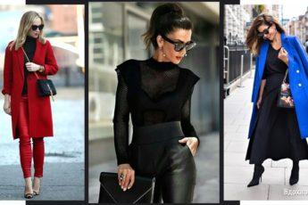 Черный цвет в одежде: с чем сочетать и как носить