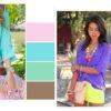 Шпаргалка для модниц: палитры сочетаний цветов в одежде