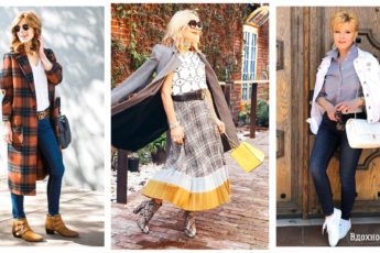Осень в стиле Casual: 24 классных примера для женщины элегантного возраста