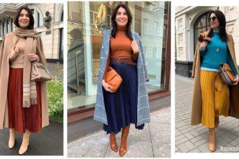 Сочетания цветов в одежде, которые сделают образ стильным: 14 осенних идей