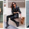 18 стильных примеров с чем носить ботинки осенью