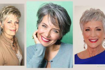 Короткие стрижки для женщин элегантного возраста: преимущества и самые популярные варианты
