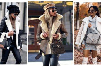 Выбираем модную дубленку на сезон осень-зима 2021-2022