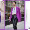 Фиолетовое вдохновение: 15 образов подчеркивающих вашу индивидуальность