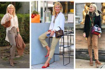 Просто и со вкусом: 15 современных образов для женщин элегантного возраста