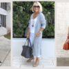 36 стильных образов с брюками для женщин элегантного возраста