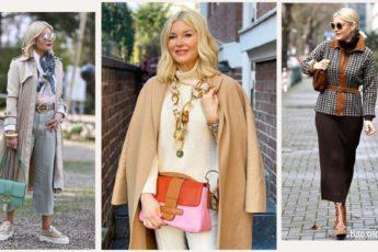 Модные тренды для женщины элегантного возраста: 14 антивозрастных образов на осень 2021