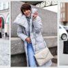 Зимний пуховик: 20 стильных образов на любой вкус