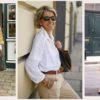 Женская рубашка - с чем носить: 13 актуальных образов для женщины элегантного возраста