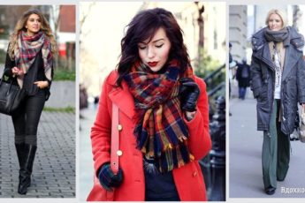 5 секретов, как носить шарф в новом сезоне